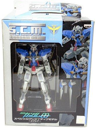 Banpresto Gundam 00 Exia Special Creactive Model S.C.M Figure Raro