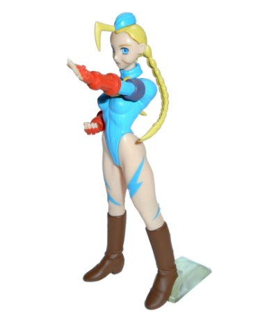 Bandai Capcom Street Fighter Zero Cammy White Gashapon