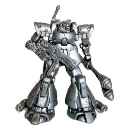 Bandai Gundam Zaku Metalic Vers. Gashapon
