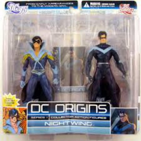 DC Origins Series 1 Nightwing (Asa Noturna)