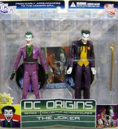 DC Origins Series 1 The Joker (Coringa)