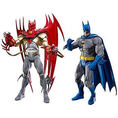 DC Universe Classic Knigthfall Azrael Batman & Batman