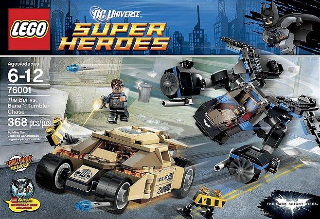 Lego 76001 DC Batman TDKR - The Bat Vs Bane Tumbler Chase 368 Peças
