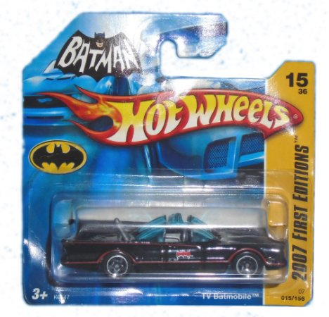 Hot Wheels DC Batman Batmobile (Batmóvel) 1966 1/64