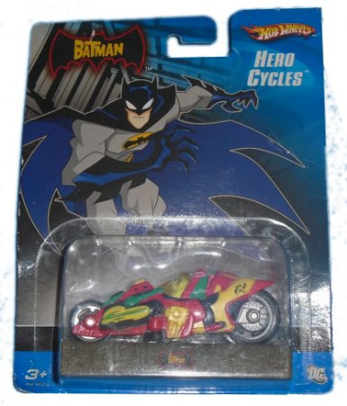 Hot Wheels The Batman Hero Cycles Moto Robin