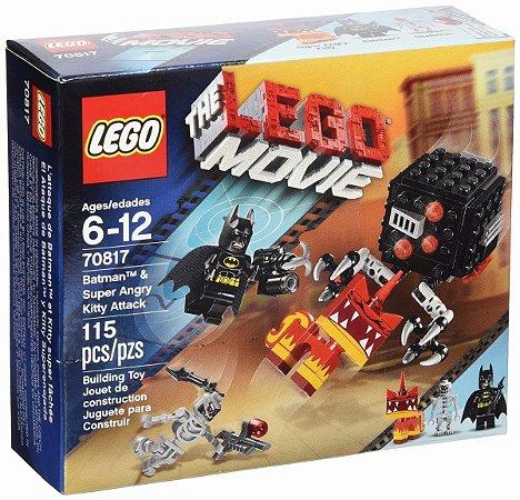 Lego 70817 - The Lego Movie Batman & Angry Kitty Attack 115 Peças