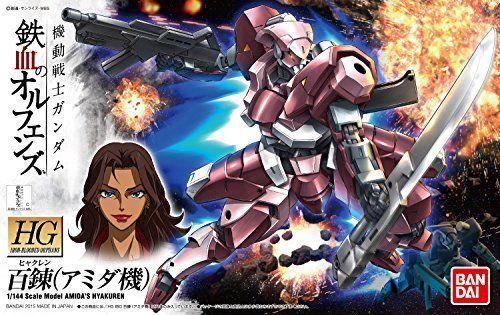 Bandai HG Iron-Blooded Orphans Barbatos Amida´s Hyakuren 1/144 Model Kit