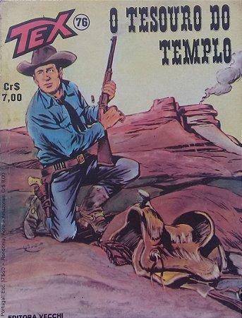 Tex #76 Ed. Vecchi O Tesouro Do Templo