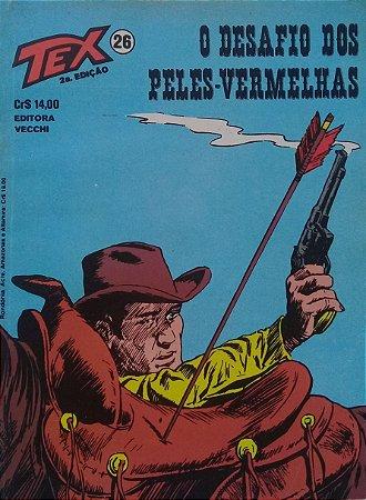 Tex #26 Ed. Vecchi O Desafio dos Peles-Vermelhas