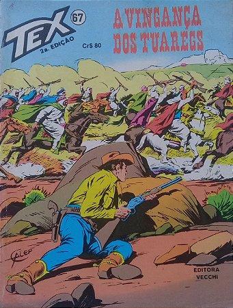 Tex #67 Ed. Vecchi A Vingança dos Tuaregs