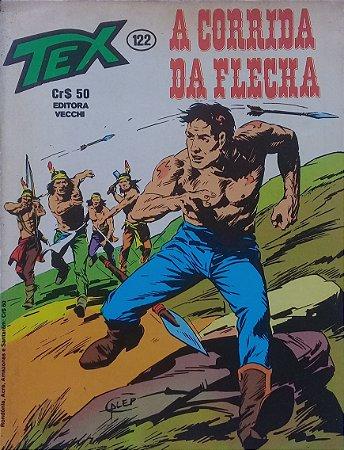 Tex #122 Ed. Vecchi A Corrida da Flecha