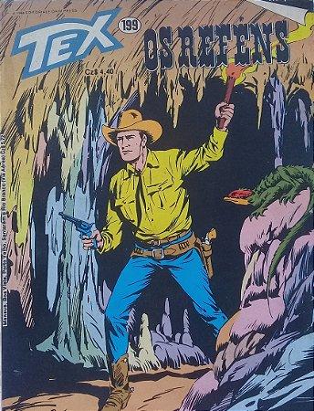 Tex #199 Ed.  RioGráfica Os Reféns
