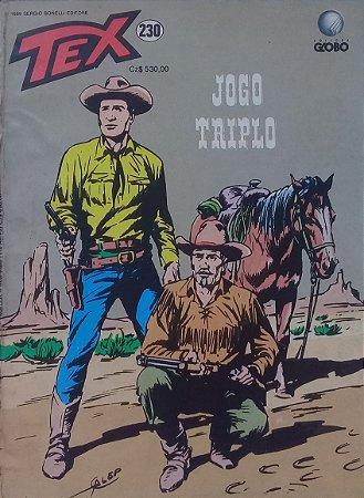 Tex #230 Ed. Globo Jogo Triplo