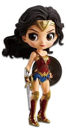 Banpresto Qposket Liga da Justiça Wonder Woman (Mulher-Maravilha)