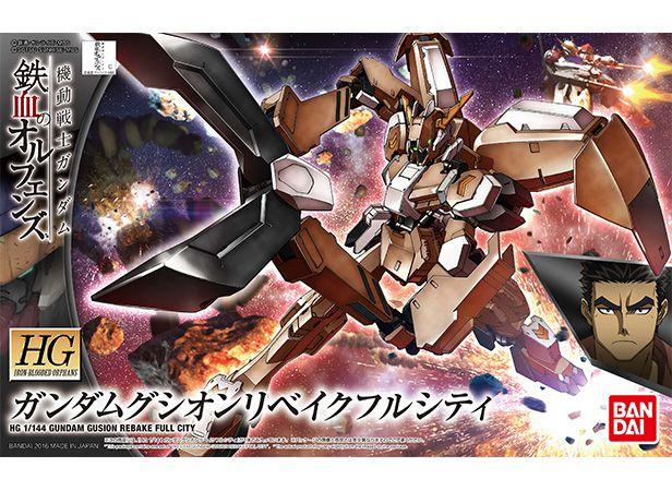 Bandai HG Iron Blooded Orphans Gundam Gusion Rebake Full City 1/144 Model Kit