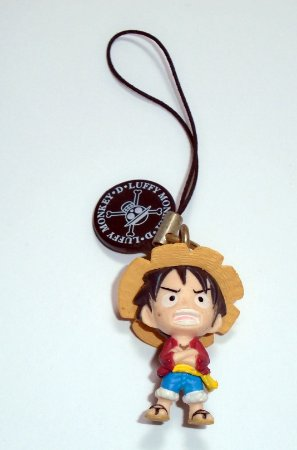Bandai Chaveiro Strap One Piece Luffy 3,5 Cm #12