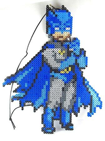 DC Batman Classico Enfeite Parede Pixel Art 30 Cm