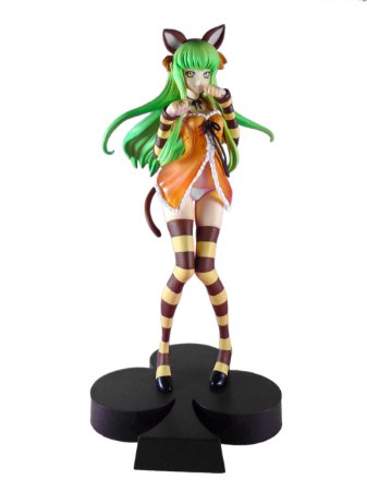 Banpresto DXF Code Geass C.C Nunnaly In Wonderland Loose