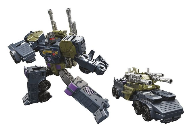 Hasbro Transformers Combiner Wars Onslaught Voyager Class