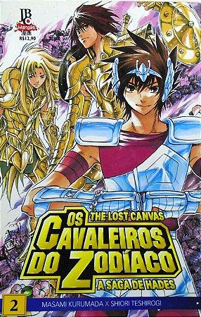 Os Cavaleiros do Zodíaco The Lost Canvas #2 Edit JBC