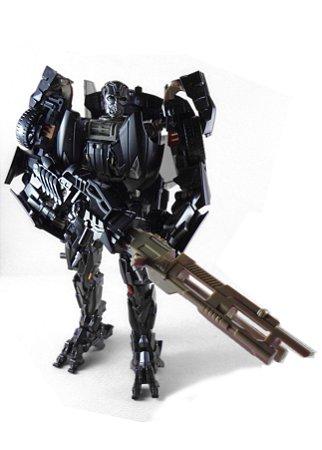 Kubian Bao Transformers AOE Lockdown OS Voyager Black vers. Loose