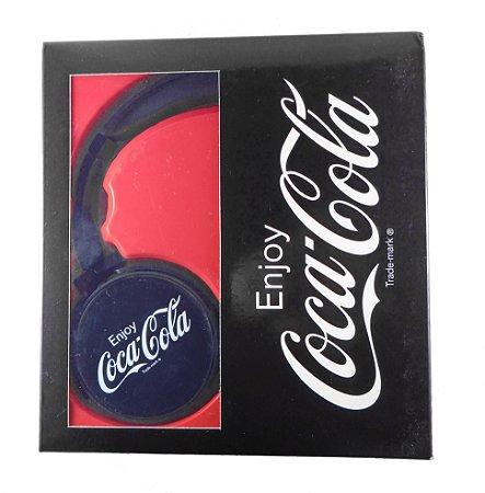 Black Headphone Coca-Cola (Fone de ouvido)