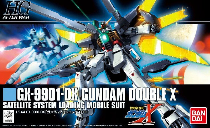 Bandai HG GX-9901-DX Gundam Double X #63 1/144 Model Kit