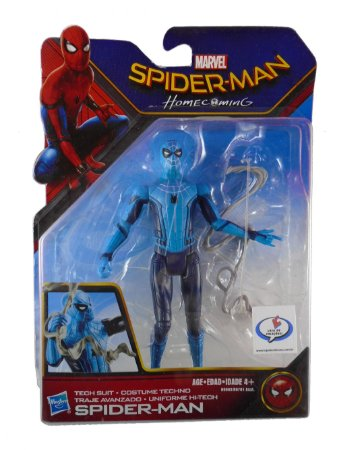 Hasbro Marvel Spider Man (Homem-Aranha) Home Coming Hi-Tech Suit