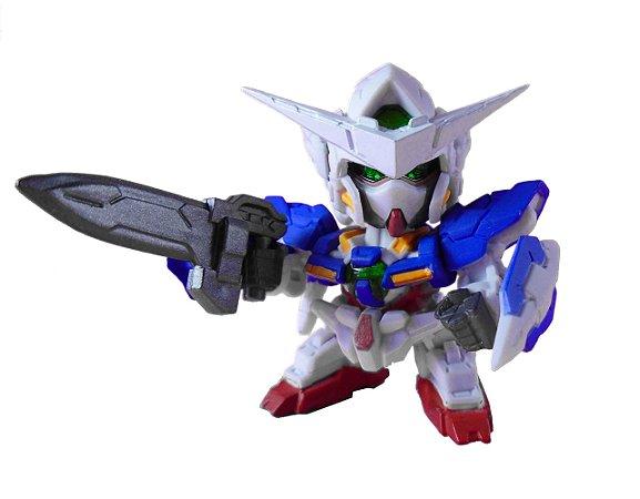 Bandai Shokugan Fw SD Gundam Neo #01 GN-001 Exia