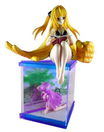 Bandai/FuRyu To Love Ru La La Satalin e Yami Set com 02 Loose