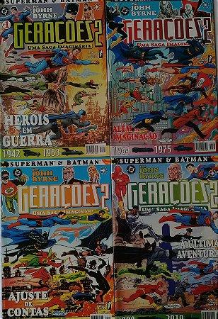 Gerações 2 - Uma Saga Imaginária - Superman e Batman
