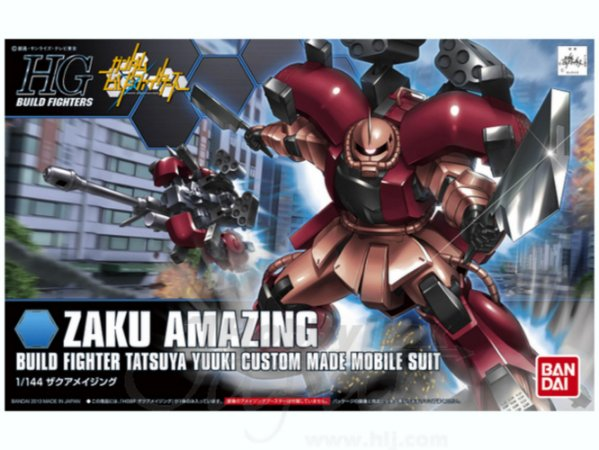 Bandai HGBF Gundam Zaku Amazing  #002 1/144 Model Kit