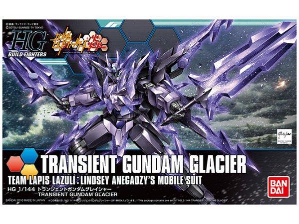 Bandai HGBF Transient Gundam Glacier #050 1/144 Model Kit