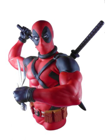 Monogram Marvel Deadpool Bust Bank