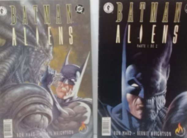 Mythos Batman Aliens Parte 1 e 2