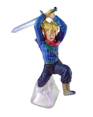 Bandai Gashapon Dragon Ball Super Trunks SSJ Battle Figure Series