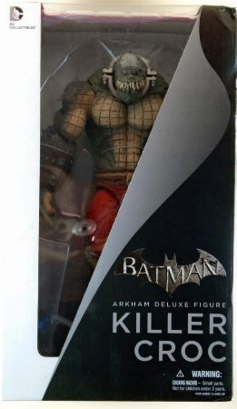 DC Collectibles Arkham Asylum Killer Croc Deluxe Figure