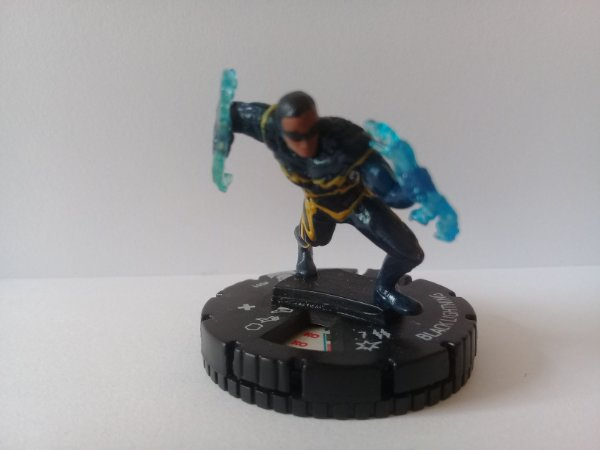 Heroclix Black Lightning #001