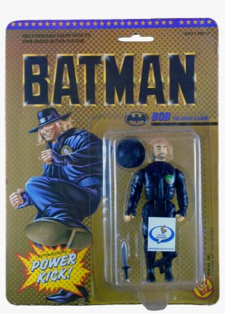 Toy Biz 1989 DC Batman Bob The Joker´s Goon Vintage