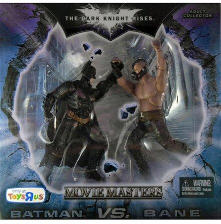 Mattel DC Batman TDKR Batman Vs Bane Movie Masters Exclusivo Toys R US