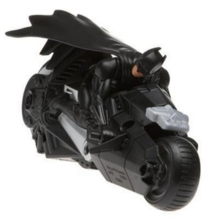 Mattel DC Batman Begins Batcycle (Batmoto)