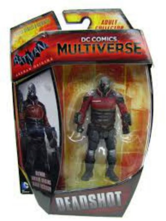 Mattel DC Multiverse Batman Arkham Origins Deadshot