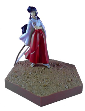 Banpresto 2001 Inu-yasha Kikyo Figure Collection Raro Loose