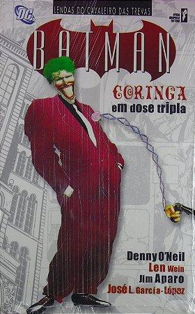 Opera Graphica DC Batman Coringa Em Dose Tripla Capa Cartonada