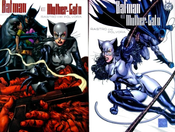 Panini Batman e Mulher-Gato Rastro de Pólvora Mini-Série Completa em 2 Edições