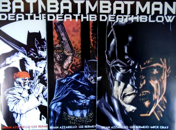 A&C Editores Batman & Deathblow Mini-Série Completa em 3 Edições