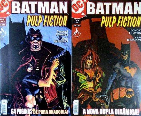 Mythos DC Batman Pulp Fiction Minissérie Completa em 2 Edições