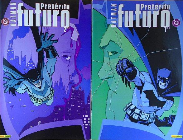 Panini DC Batman Pretérito Futuro Minissérie Completa em 2 Edições