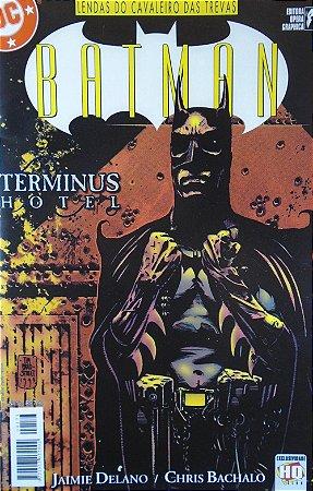 Ópera Graphica Lendas do Cavaleiro das Trevas #12 Batman Terminus Hotel