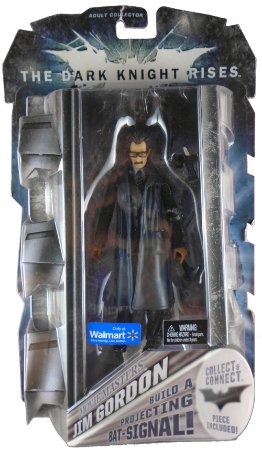 Mattel DC Batman TDKR Movie Masters Jim Gordon Exclusivo Wallmart